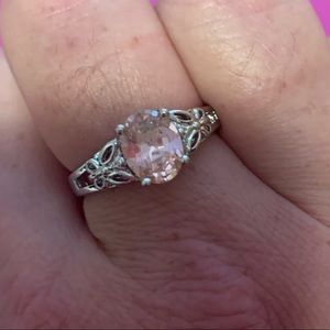 Jewelry - Pink Gemstone Butterfly Ring